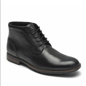 Rockport | Men Dustyn Chukka Black Waterproof Boot